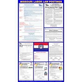 Missouri State Labor Law Poster